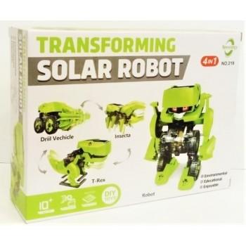 Конструктор Solar Robot 4в1