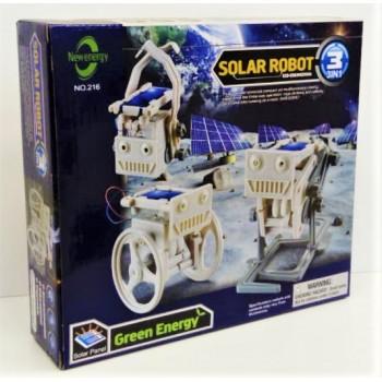 Конструктор Solar Robot 3в1