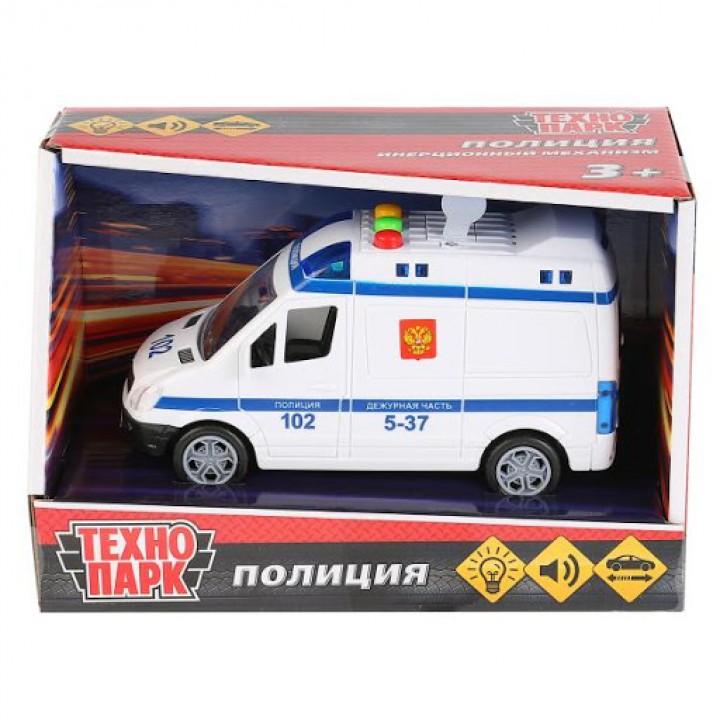 Машина Полиция (пластик, свет, звук) Технопарк