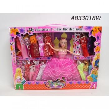 304117   Кукла 29см с набором одежды в кор. в кор.2*18шт