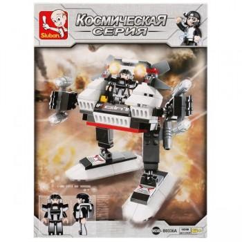 Конструктор Космос робот с фигуркой 108 дет. Sluban