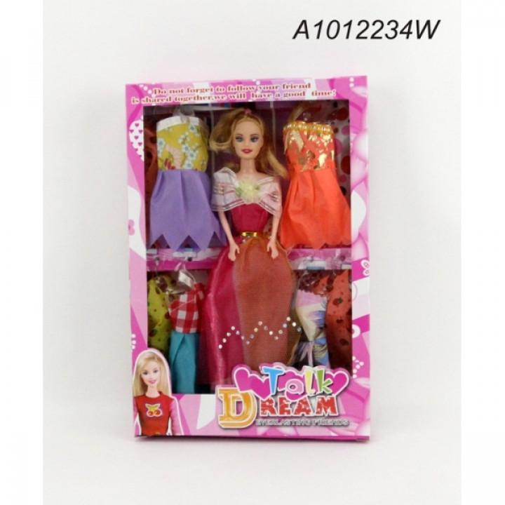 304231   Кукла 29см с набором одежды в кор. в кор.96шт