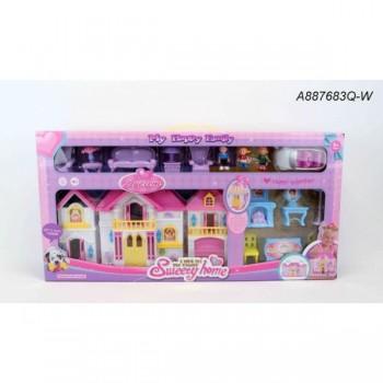 Дом для кукол с фигурками и аксессуарами A887683Q-W