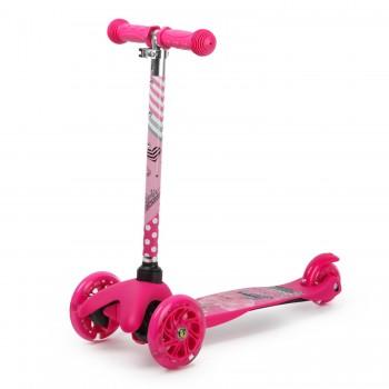 Самокат детский 3-х колесный Barbie Scooter HF-TK002A-B1