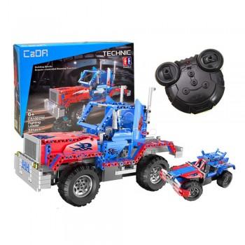 Конструктор Джип-грузовик 2 в 1 на РУ (531 деталь) CaDA C51001W