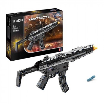 Конструктор Пистолет-пулемет МР5 (617деталей) CaDA C81006W