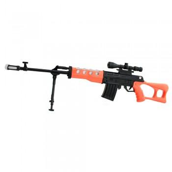 Винтовка с лазером Snipers (свет, звук, вибрация)