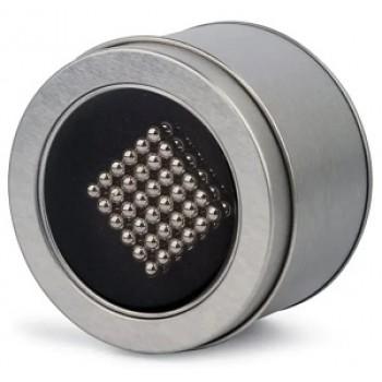 Неокуб серебряный 216 шариков 3 мм