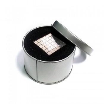 Неокуб серебряный 216 кубиков 3 мм