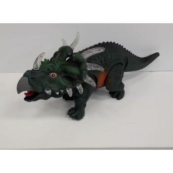 Игрушка Динозавр на батарейках свет, звук, движение 3302