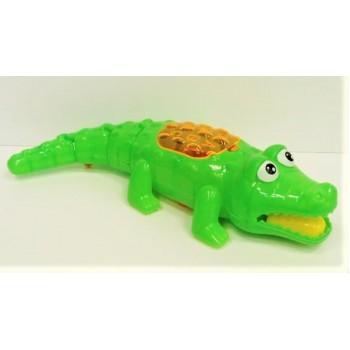 Заводной крокодил (свет) в пакете
