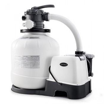 Фильтрующий насос песочный 8000 л/ч Krystal Clear Sand Filter Pump Intex
