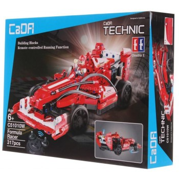 Конструктор CaDa Автомобиль Formula Racer на р/у 317 дет. C51010W