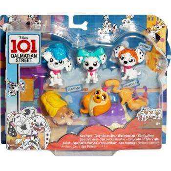 Игровой набор 101 Далматинец Спа-коллекция Mattel GBM44