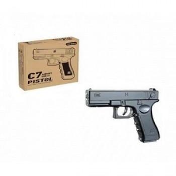 Пистолет металлический Airsoft Gun C7
