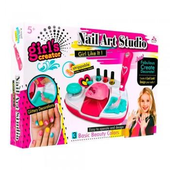 Набор детской осметикки для маникюра с прибором для сушки ногтей Girls Creator MBK-331